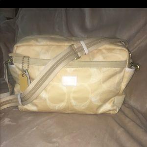 Large coach diaper bag